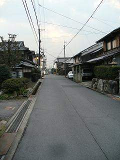20070112武佐宿縦.JPG