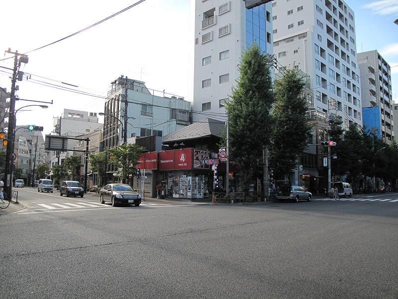中山道・日光御成道-本郷追分: 街道歩き